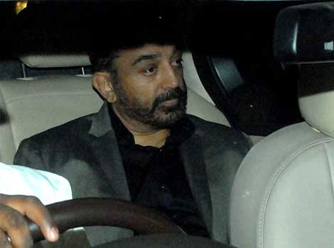 Kamal Hassan at Anil Ambani's bash