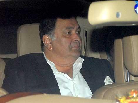 Rishi Kapoor at Anil Ambani's bash