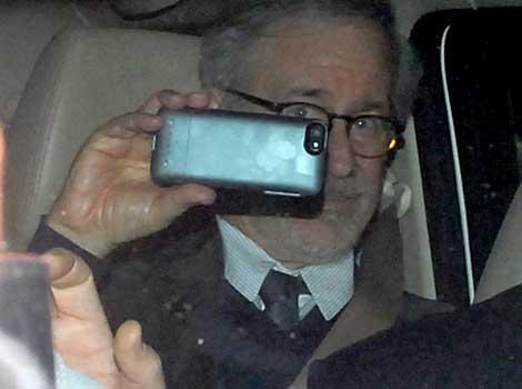 Spielberg at Anil Ambani's bash