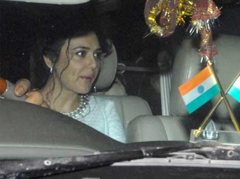 Preity Zinta at Anil Ambani's bash