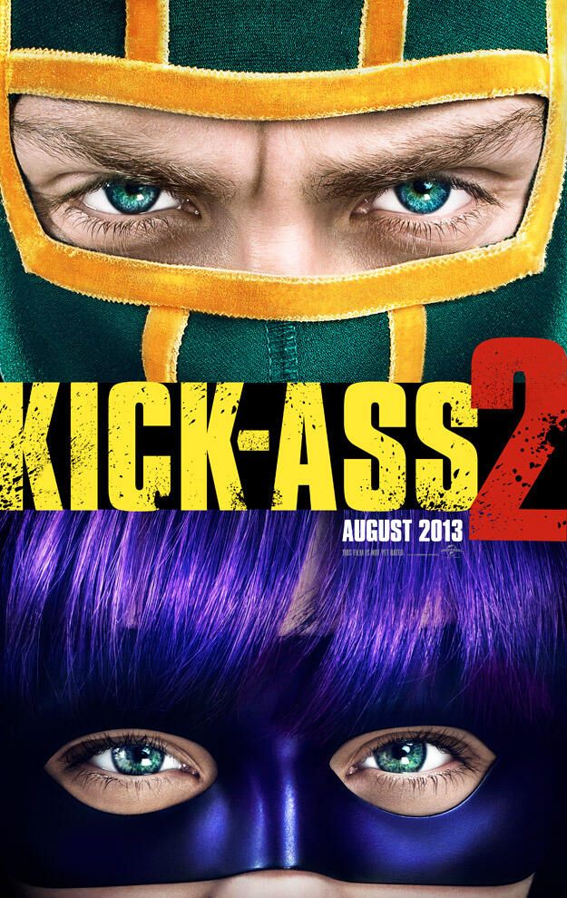 The first look poster of  Kick-Ass 2 ( click to enlarge)