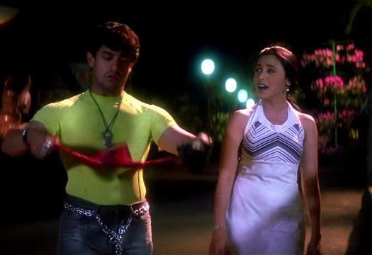 Aamir-Rani in <i>Ghulam</i> (1998)