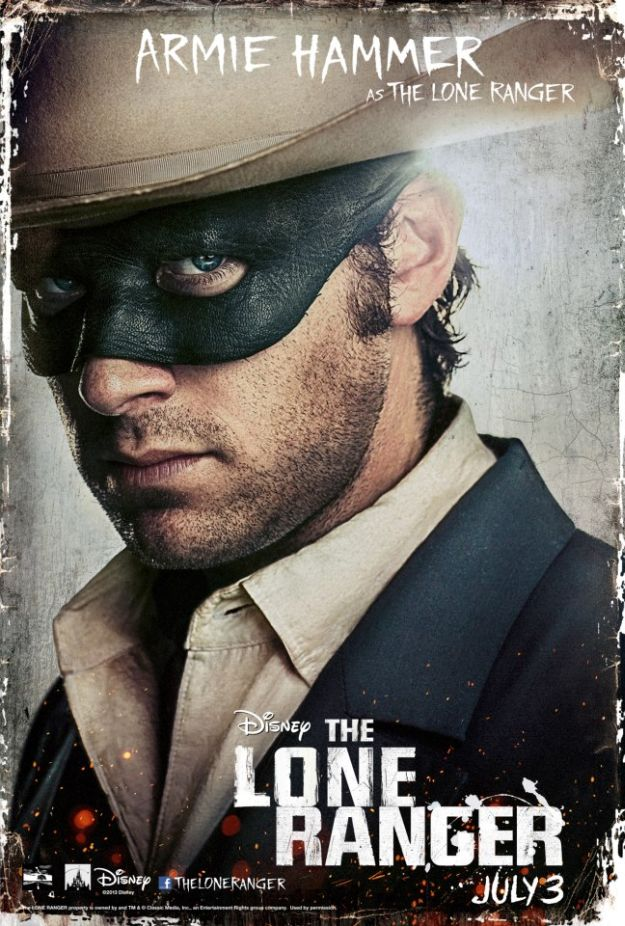 Armie Hammer in <i>The Lone Ranger</i>
