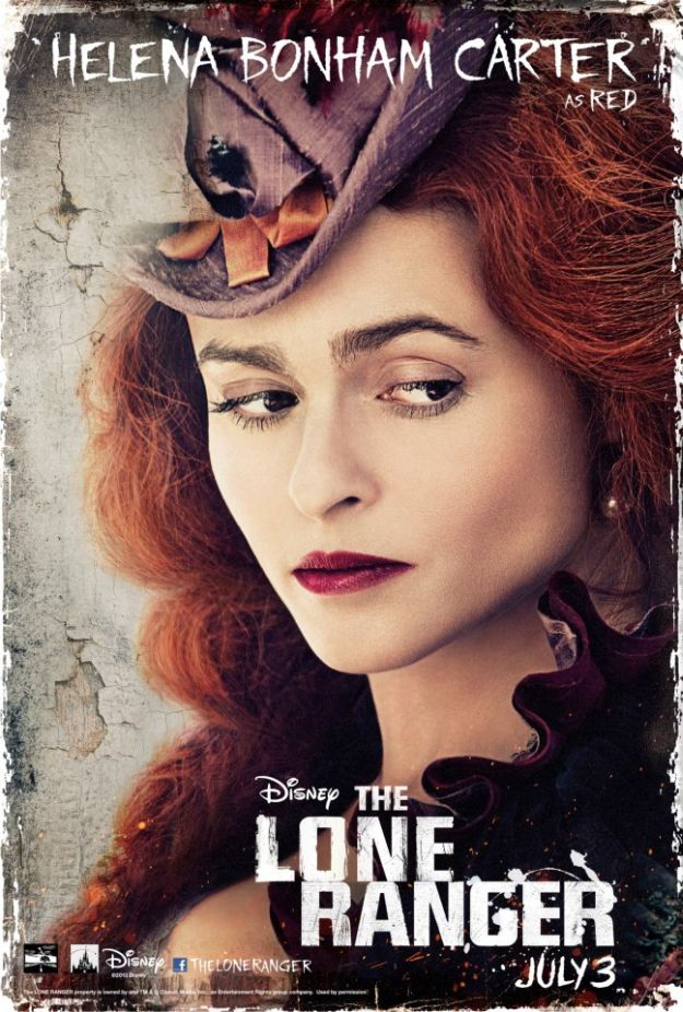 Helena Bonham Carter in <i>The Lone Ranger</i>