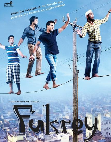 First Look Poster:  Fukrey