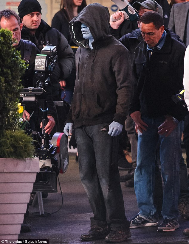 Jamie Foxx as Electro in <i>The Amazing Spider-Man 2</i>