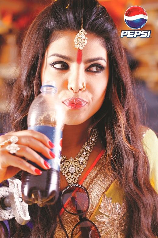 Priyanka Chopra in her spiritual diva look for Pepsi IPL_4.jpg