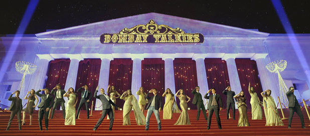 The stars in the special song from  Bombay Talkies