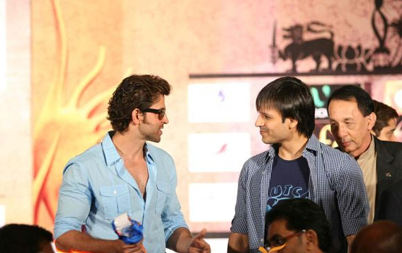 Vivek and Hrithik at a past event.