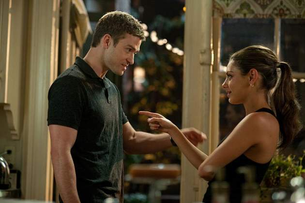 Kunis with Justin Timberlake in  Friends With Benefits