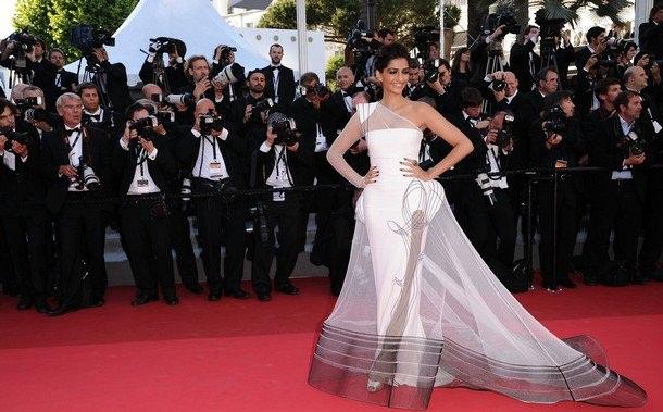 Sonam at Cannes 2012