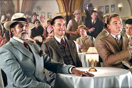 Amitabh Bachchan, Leonardo Di Caprio and Tobey Maguire in  The Great Gatsby