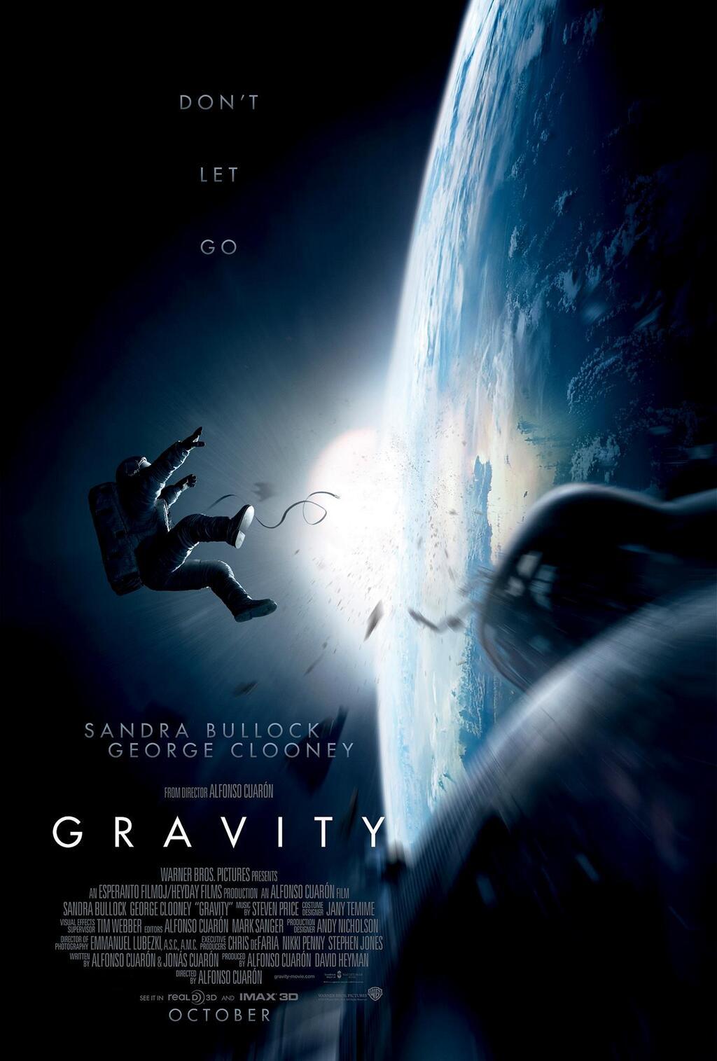 Gravity  movie poster