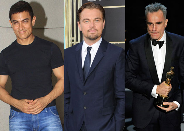 Aamir is a big fan of Leonardo DiCaprio and Daniel Day Lewis