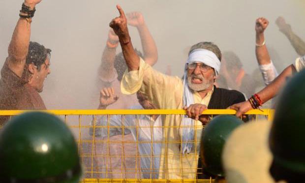Amitabh Bachchan in  Satyagraha
