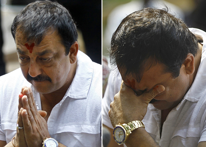 Dutt begins his prison sentence today - Thursday 16 May 2013