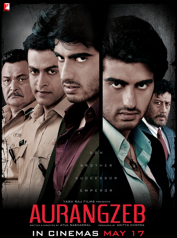 Theatrical poster of  Aurangzeb