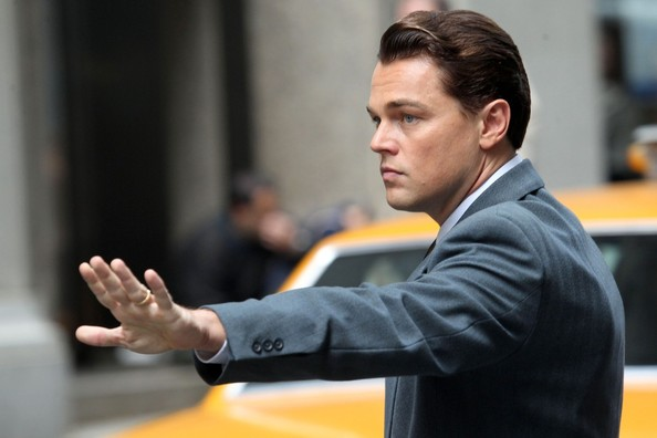 DiCaprio in  The Wolf of Wall Street