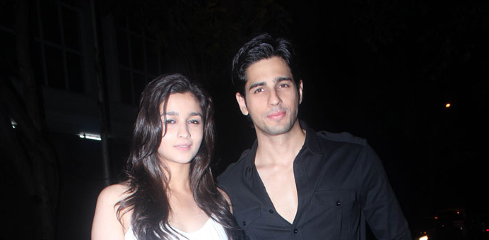 Alia Bhatt & Sidharth Malhotra