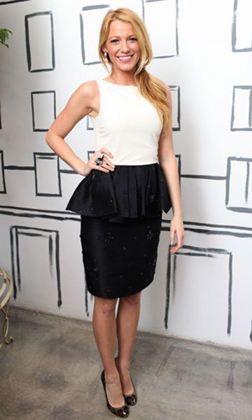 Blake Lively at Jason Wu for Target launch party, Jan 2012