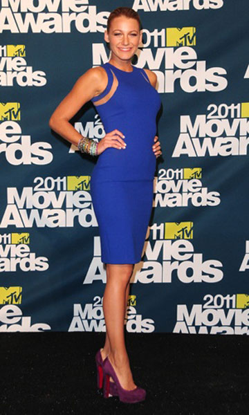 Blake Lively in Michael Kors at the MTV Movie Awards, June 2011