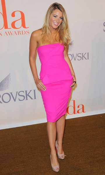 Blake Lively in Michael Kors at the CFDA Awards, 2009