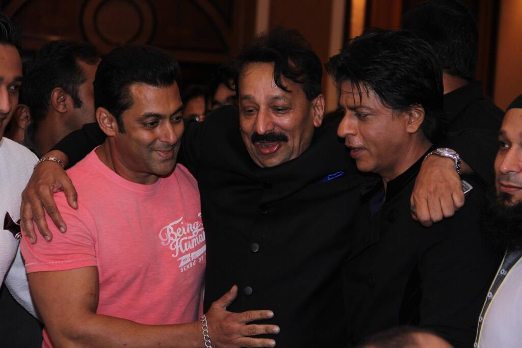 Salman and SRK at the party
