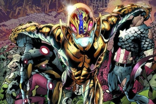 Ultron as depicted in the comics