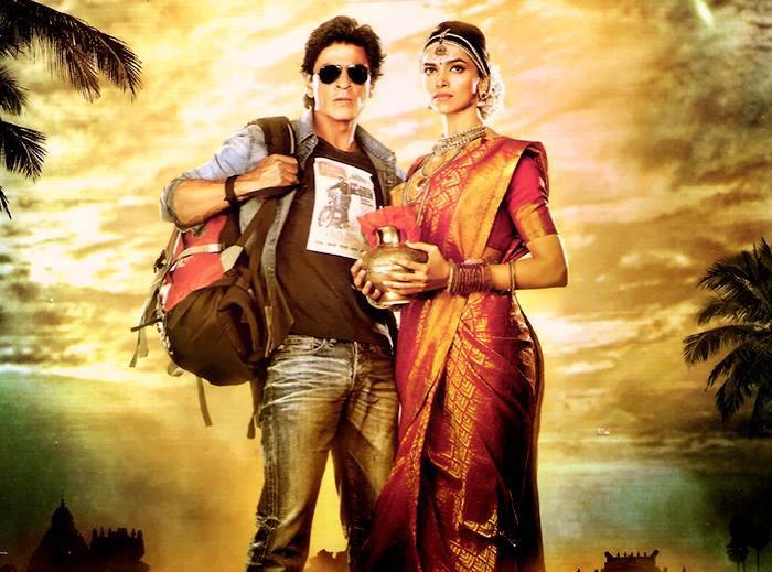 SRK-Deepika in  Chennai Express