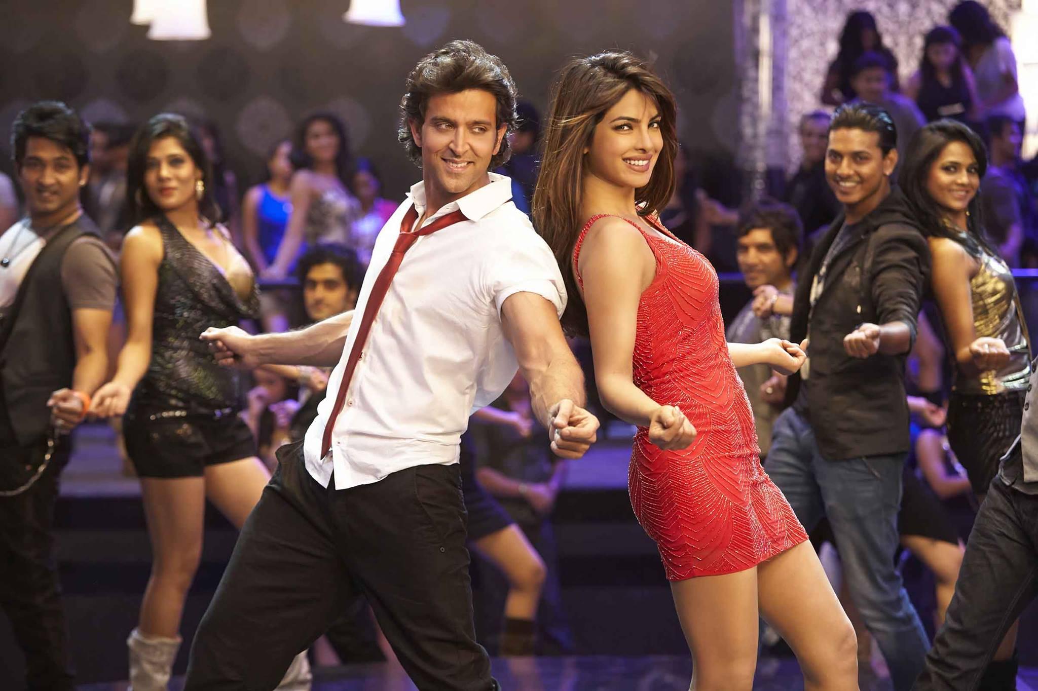 Hrithik Roshan and Priyanka Chopra in  Krrish 3