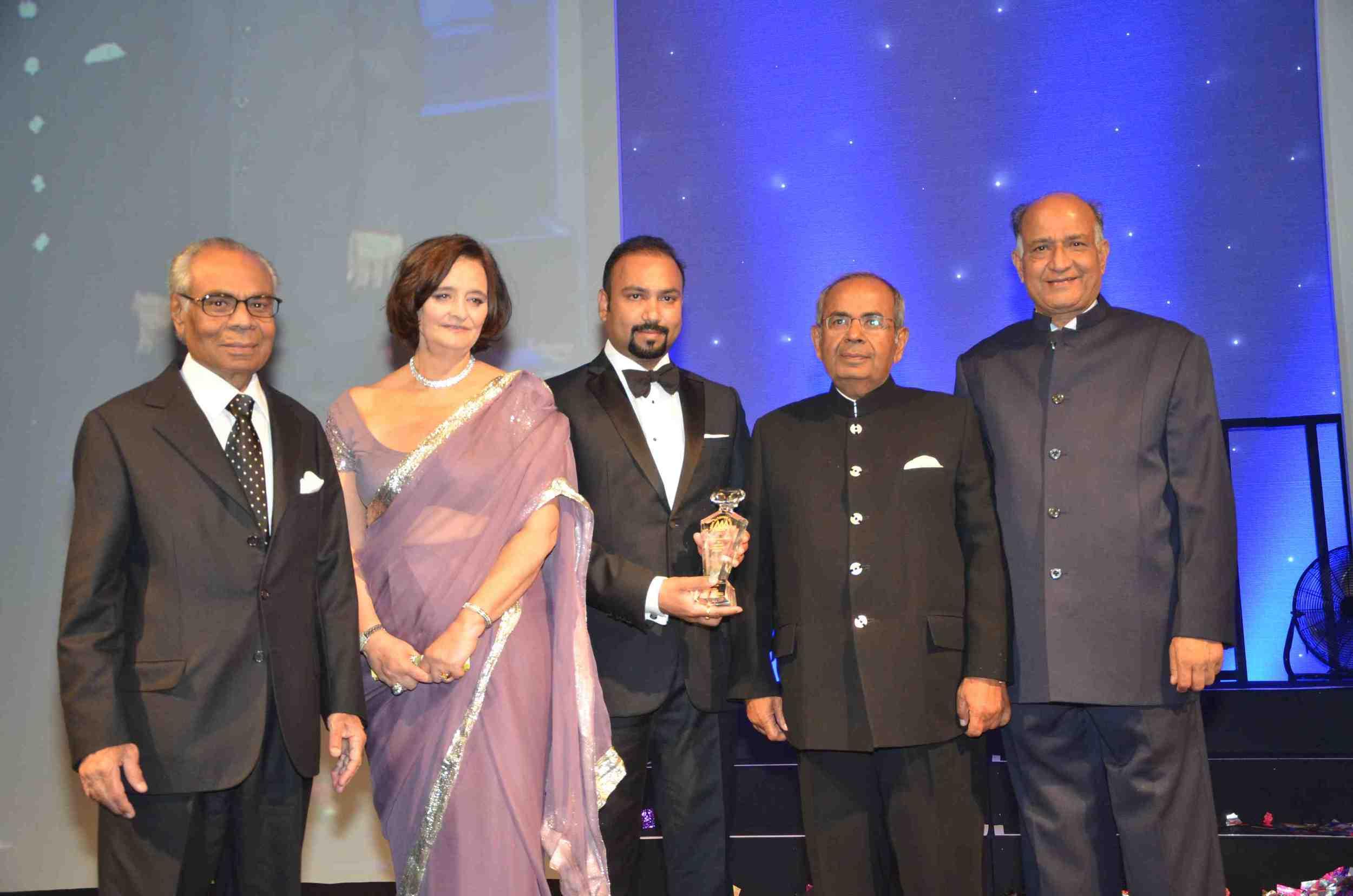 Srichand Hinduja; Cherie Blair CBE, QC; Subaskaran Allirajah; Gopichand Hinduja;  CB Patel