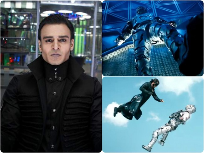Apparently the Roshans were extremely impressed with Vivek Oberoi's preparation for his role as the villain Kaal for  Krrish 3