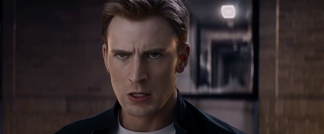 Chris Evans in  Captain America The Winter Soldier