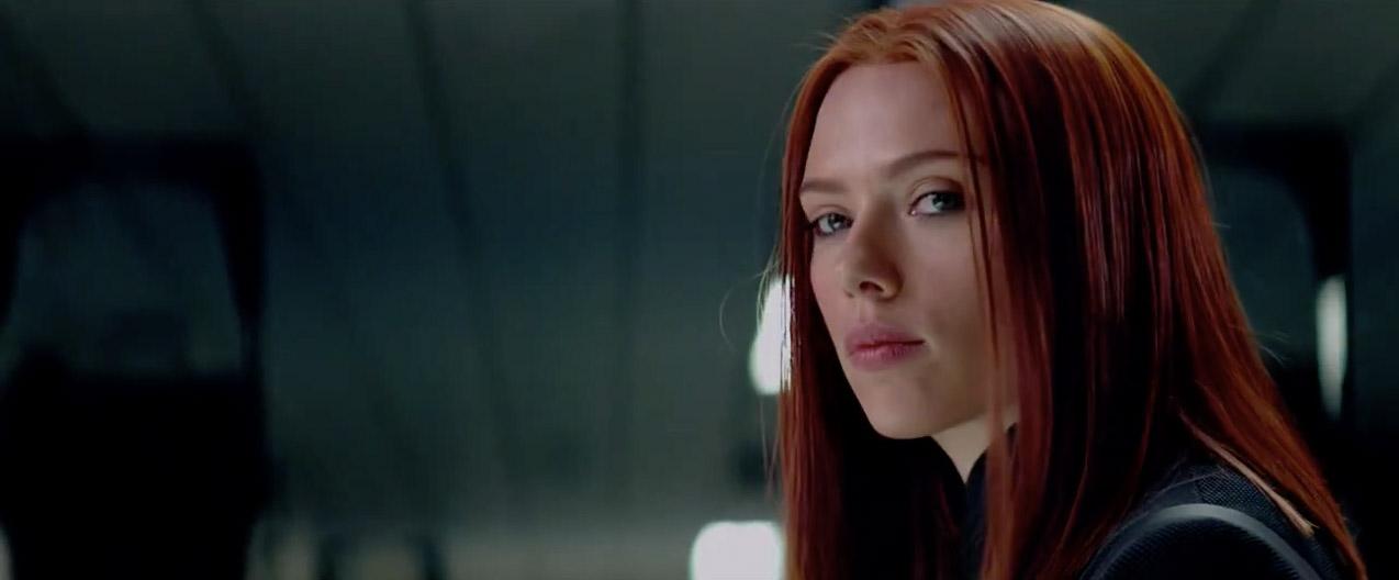 Scarlett Johansson returns as The Black Widow