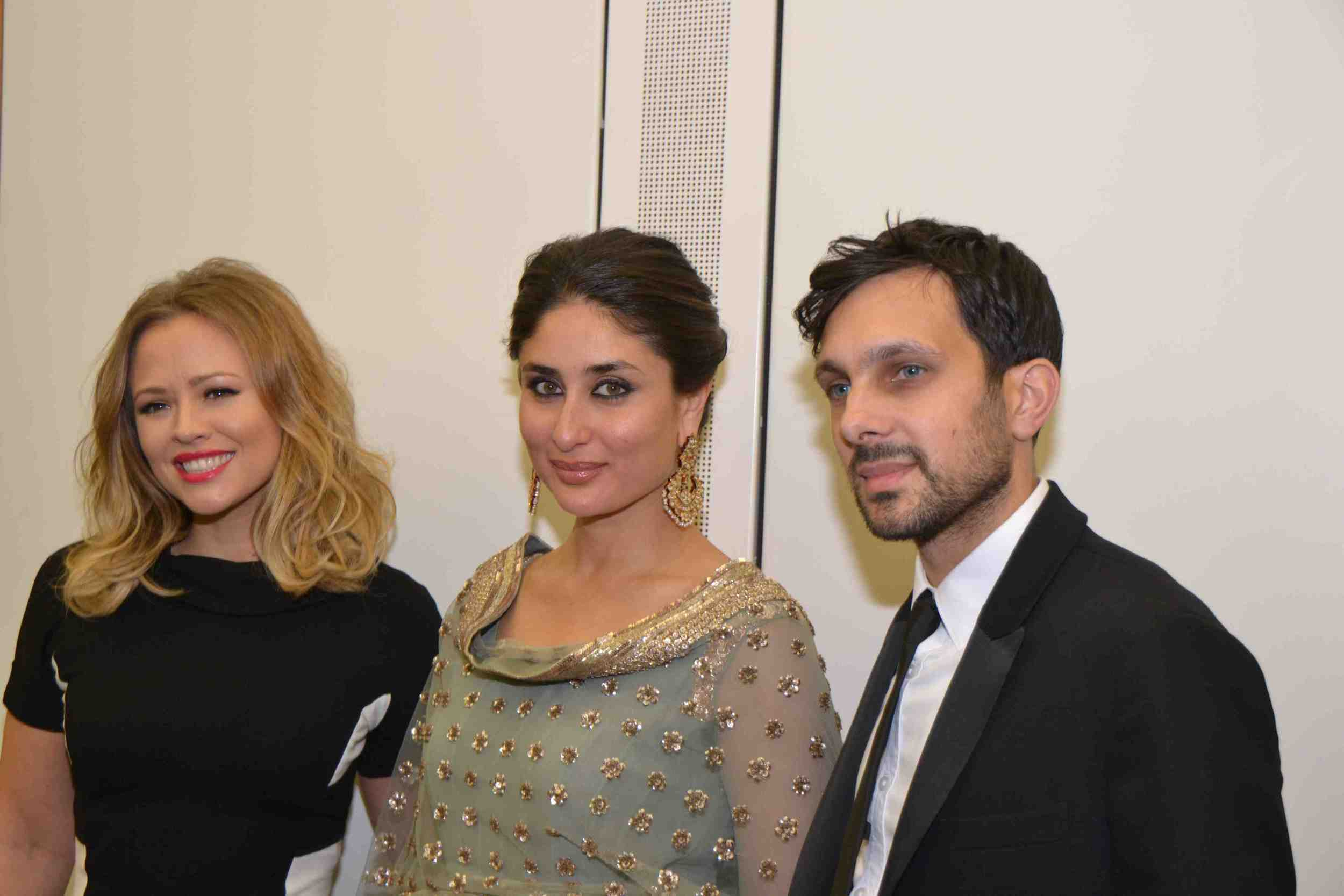 Kareena Kapoor Khan, Kimberley Walsh and Dynamo at the prestigious event