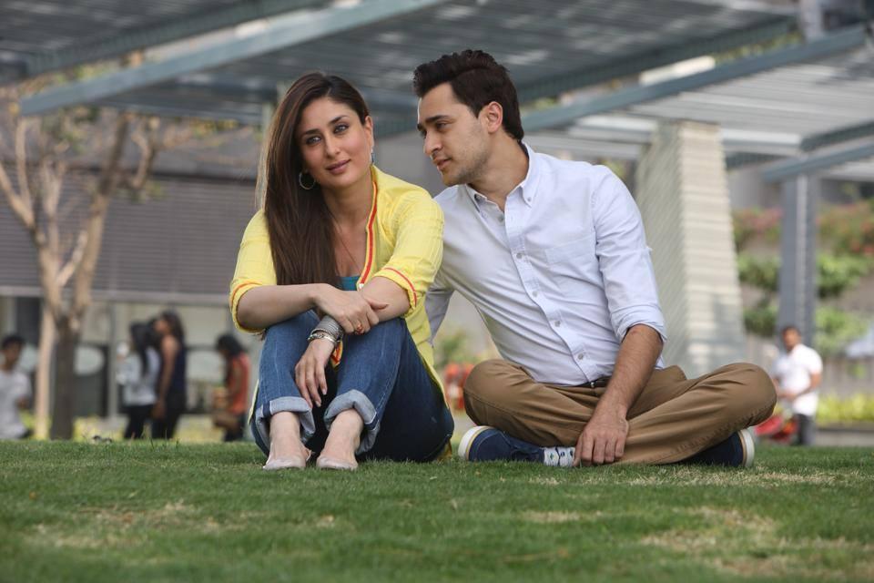 Kareena and Imran in  Gori Tere Pyaar Mein