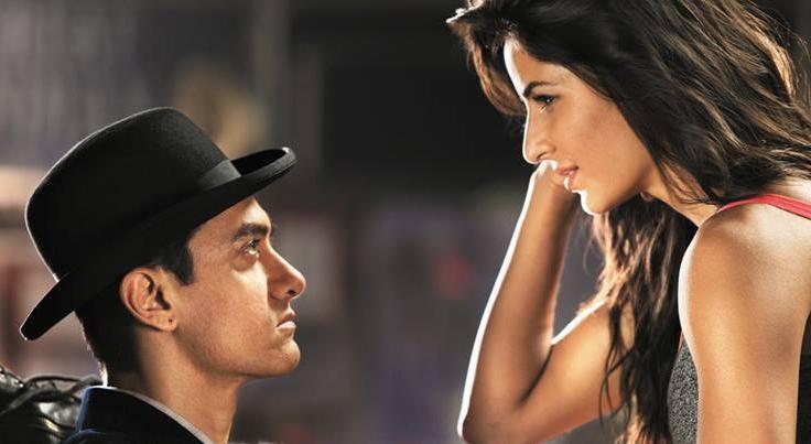 Aamir-Katrina in  Dhoom 3