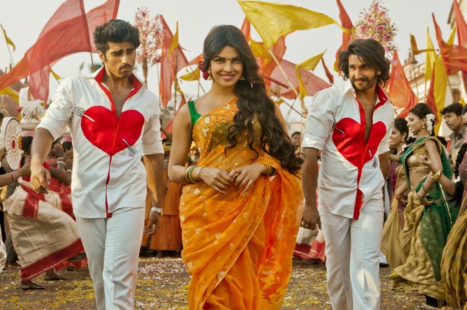 Arjun-Ranveer-Priyanka in  Gunday