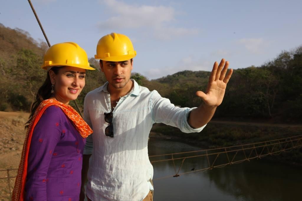Imran-Kareena in  Gori Tere Pyaar Mein