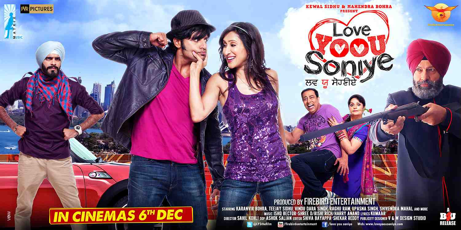Theatrical poster:  Love Yoou Soniye