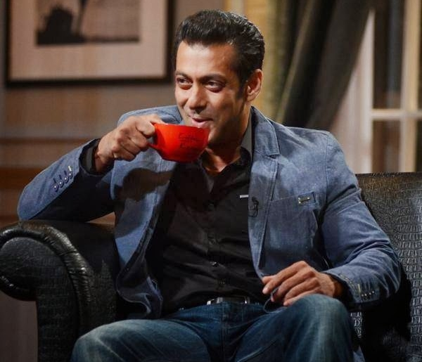 Salman Khan was at his candid best on the couch