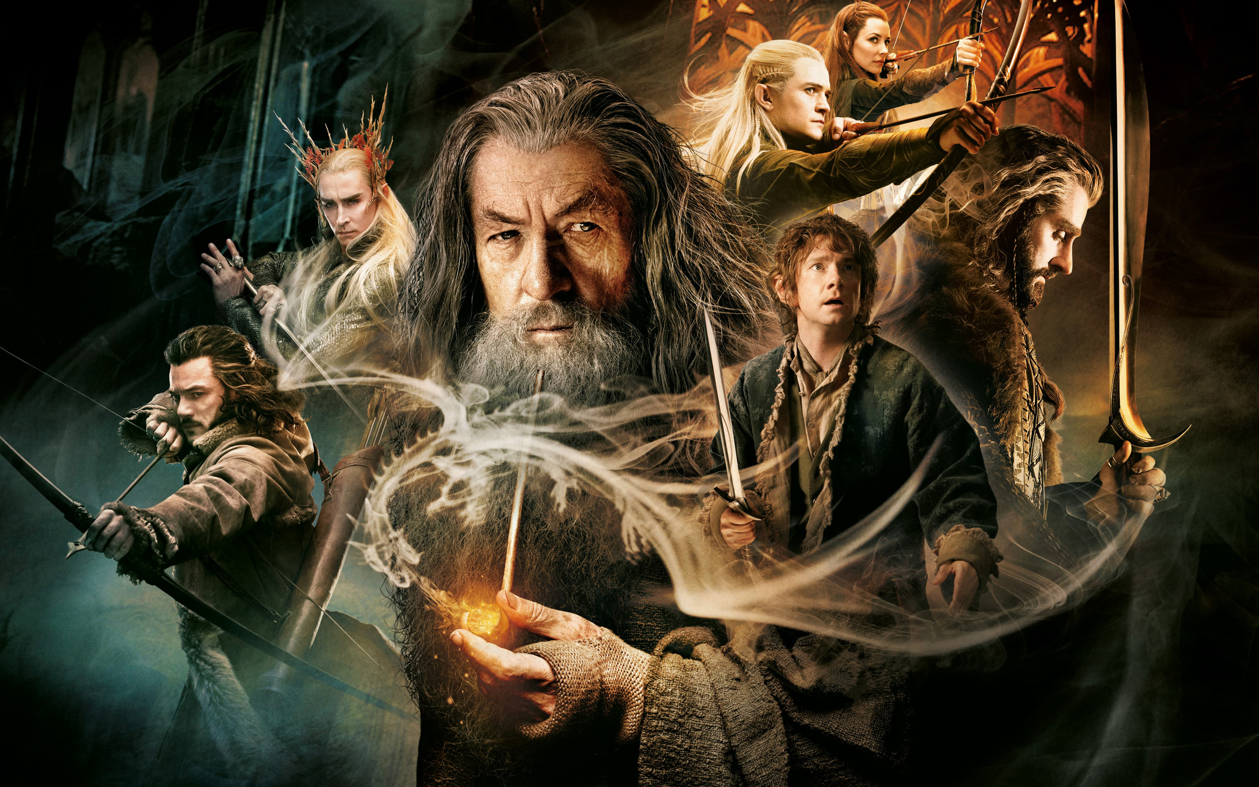 The Hobbit - The Desolation of Smaug  is a far superior movie to the first
