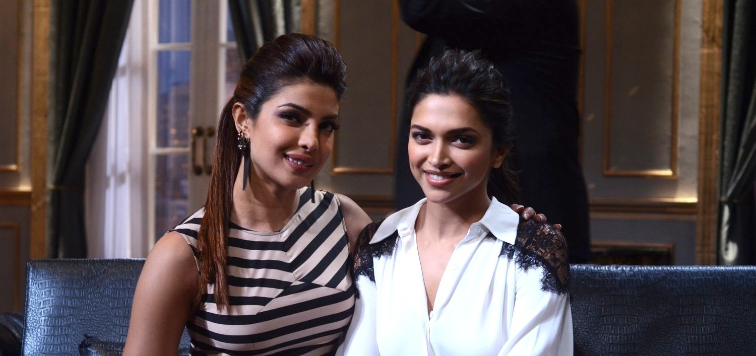 Priyanka Chopra and Deepika Padukone on  Koffee With Karan Season 4