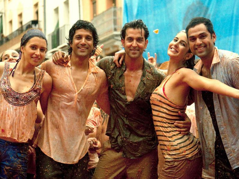 Zindagi Na Milegi Dobara  (2011)   The credit for the success of this film should go to a host of actors including Farhan Akhtar and Abhay Deol, but it was undoubtedly Hrithik that made it the awesome coming of age film that it was. As the uptight, career obsessed, money minded Arjun who reluctantly goes on a road trip with his pals, which ultimately changes his life forever, Hrithik deserves credit for pulling of a character that isn't so likeable and not so larger than life like his previous avatars. His sizzling chemistry with a usually stiff Katrina Kaif was the film's other major trump card.