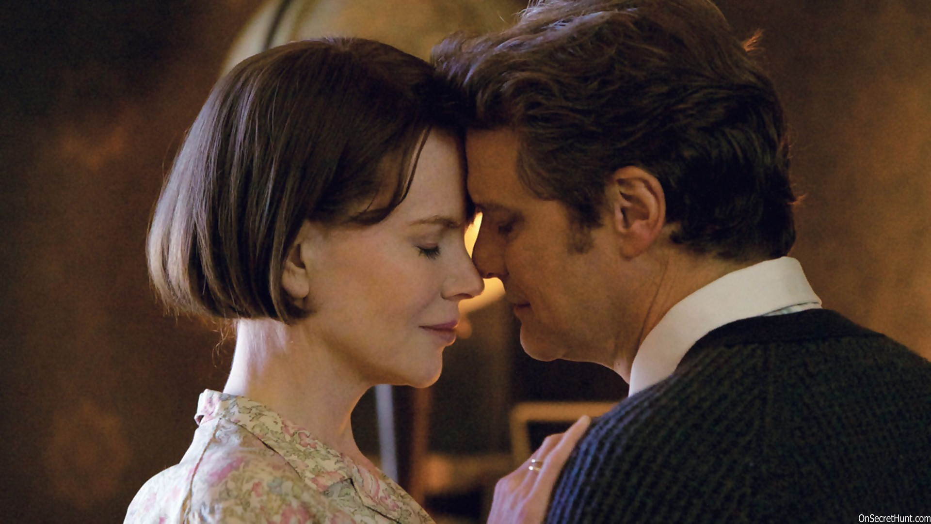 Nicole Kidman and Colin Firth in  The Railway Man