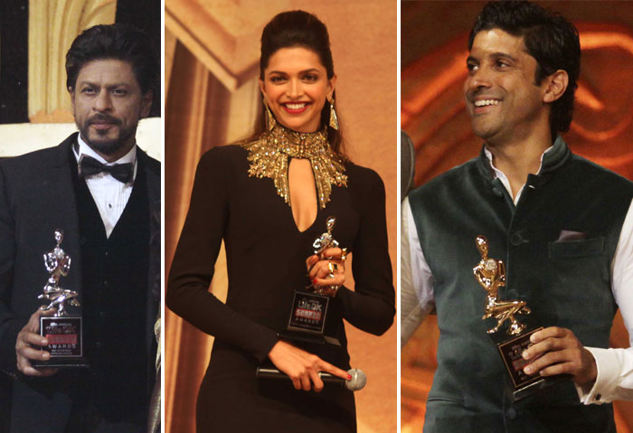 Shah Rukh Khan, Deepika Padukone and Fahran Akhtar won Screen Awards earlier this week
