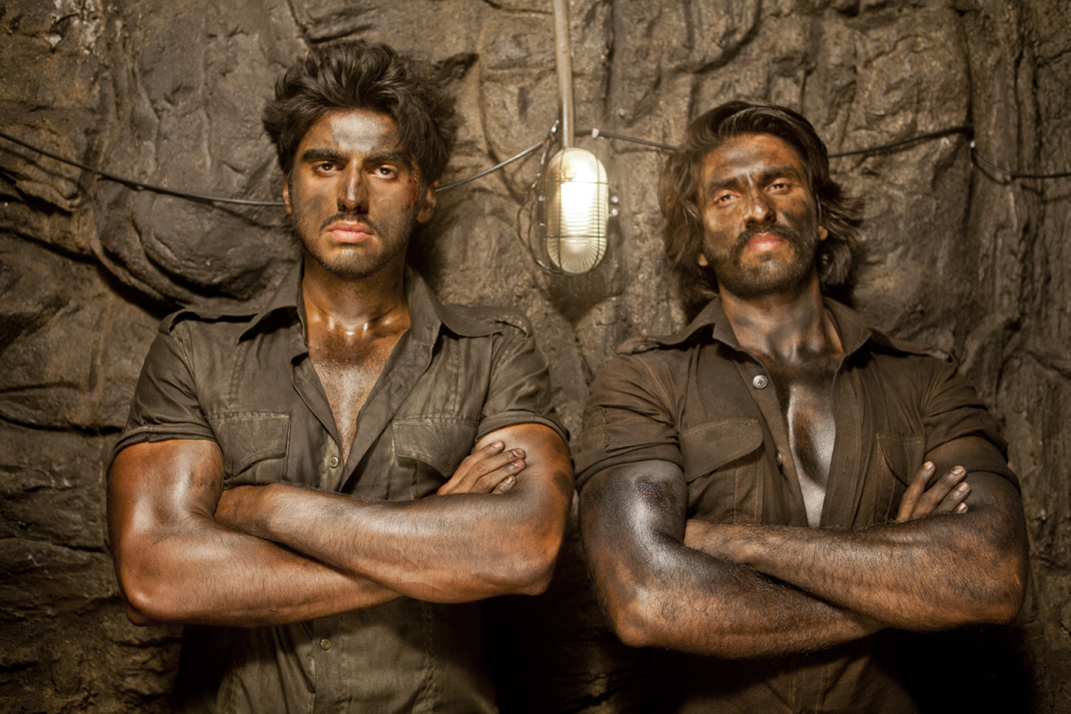 Arjun-Ranveer in  Gunday