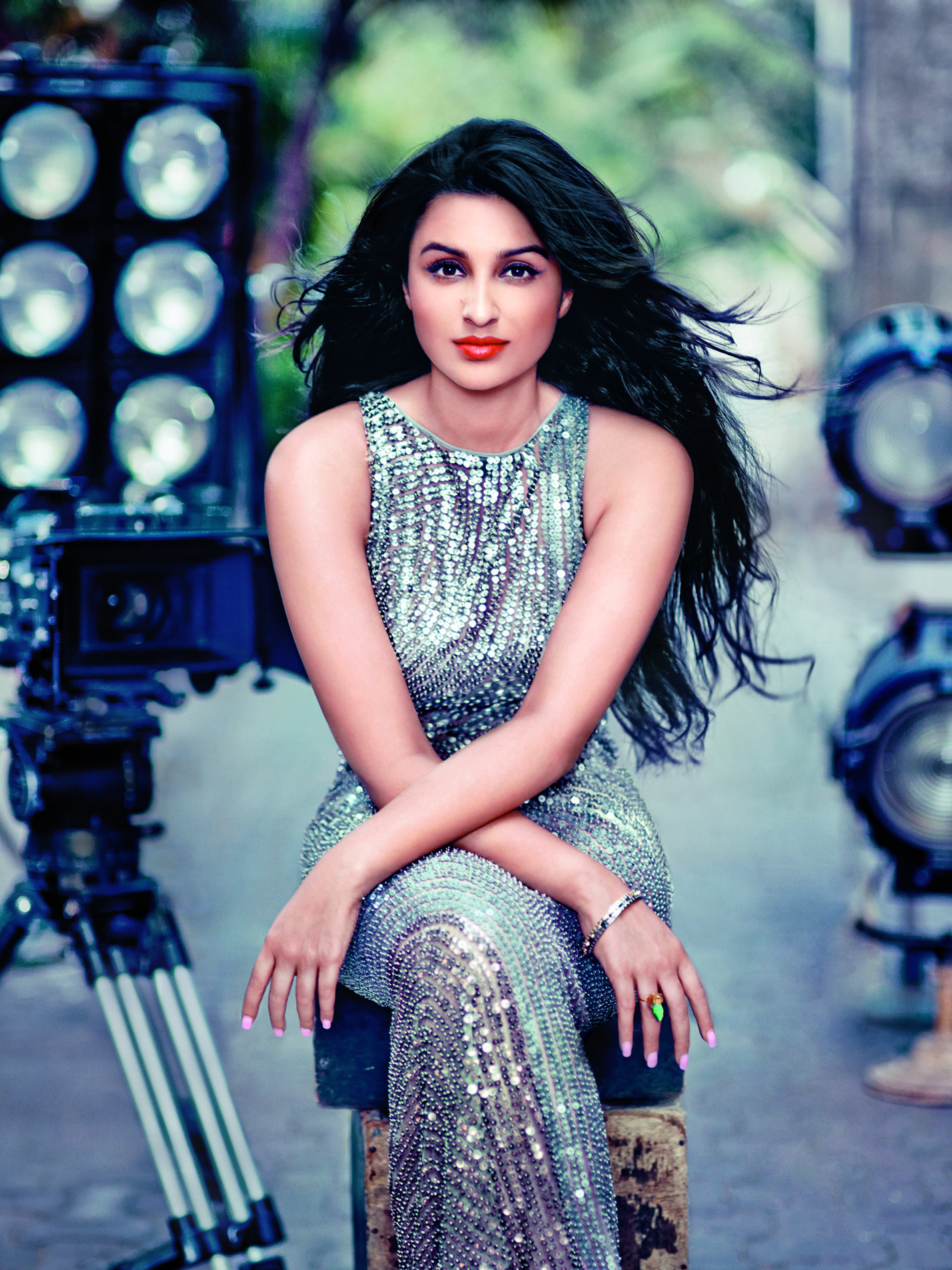 Parineeti on the cover of Vogue India — February 2014
