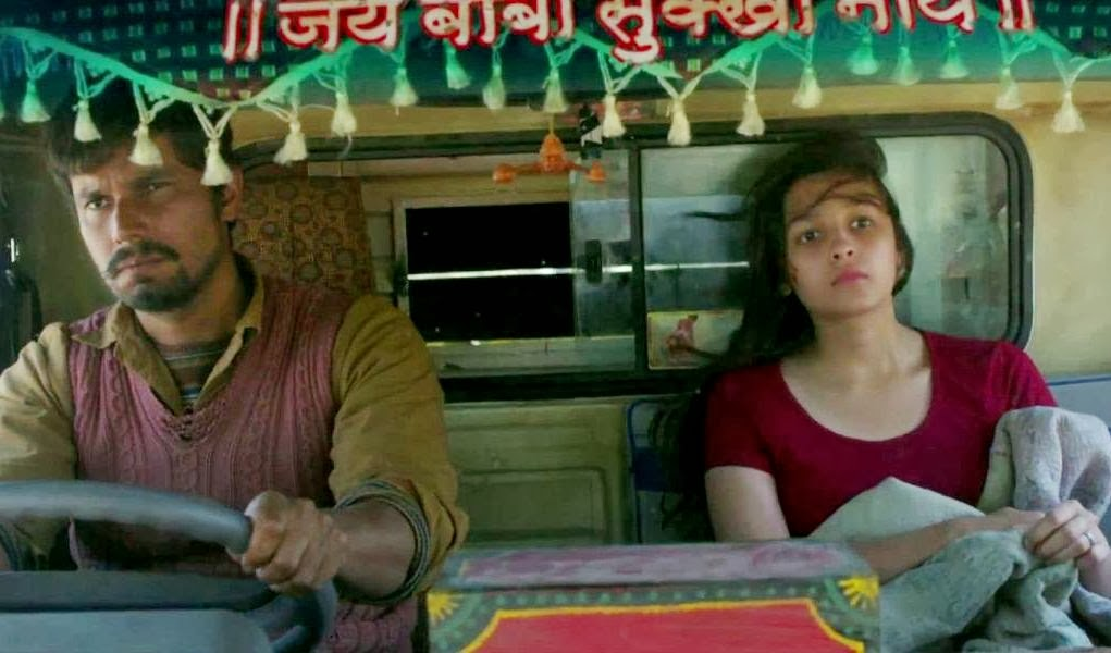 Randeep Hooda and Alia Bhatt are outstanding in  Highway