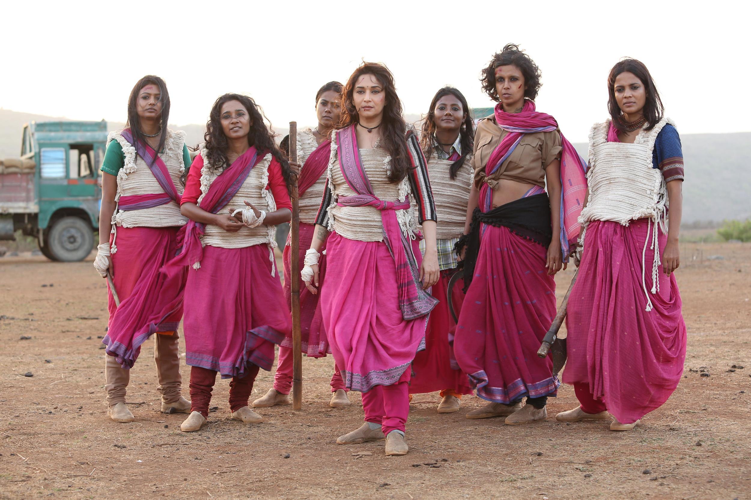 Madhuri Dixit with Gulab Gang.jpg